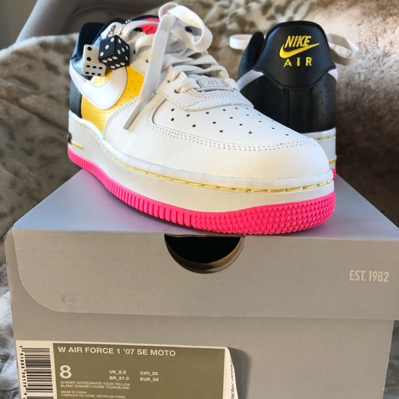 promo code 355e1 fd76a Wms Nike Air Force 1  07 SE Moto. Brand new.